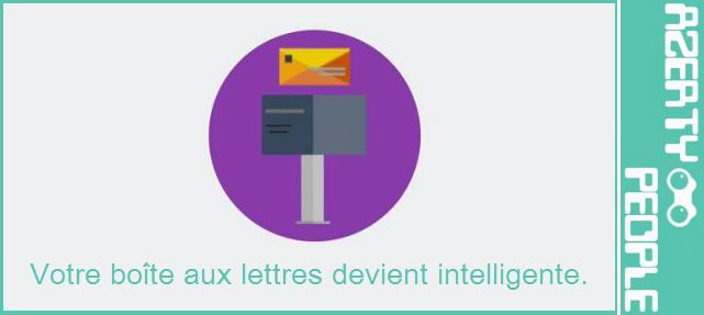 Smart BAL, la boîte aux lettres connectée